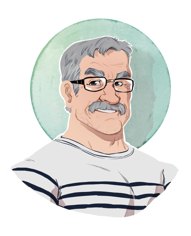 portrait gérard cousseau