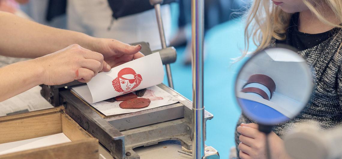 atelier gravure sur gomme
